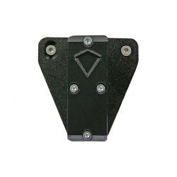 X-BOW FMA torch / laser holder - adjustable - suitable for EK Archery Cobra R9, RX & Adder