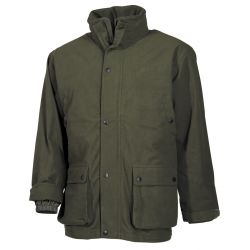 Outdoor jacket, poly tricot, olive