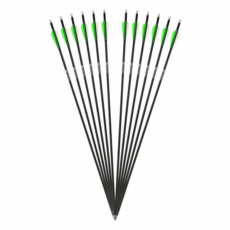 DRAKE Fire - Carbon Hybrid Arrow - 12 pack