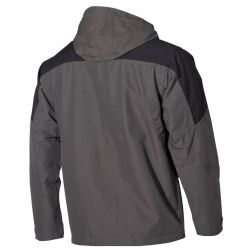 "Outdoor Jacke, ""High Mountain"" schwarz/grau"