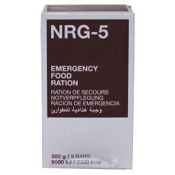 Emergency catering, NRG-5, 500 g, (9 bars)