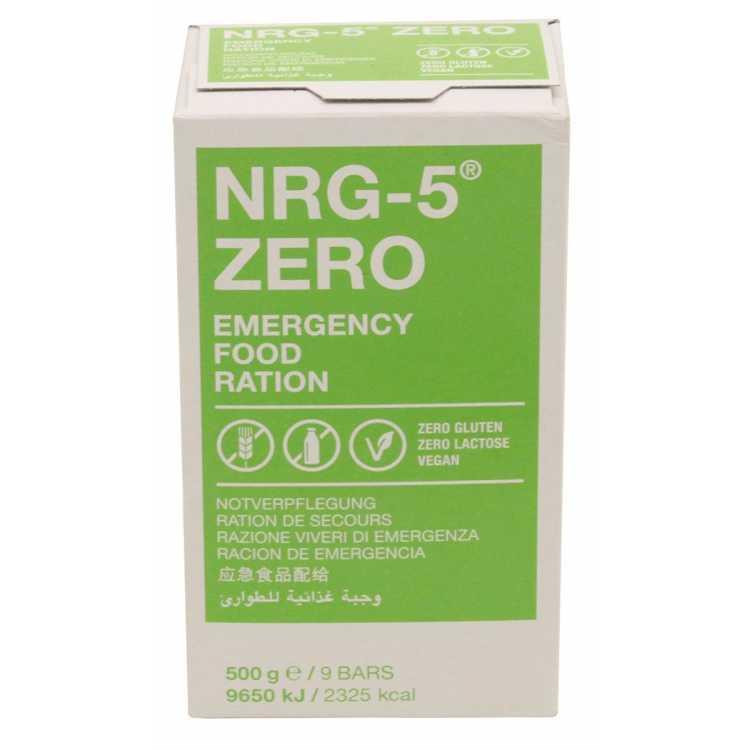 Emergency catering, NRG-5, ZERO, 500 g, (9 bars)