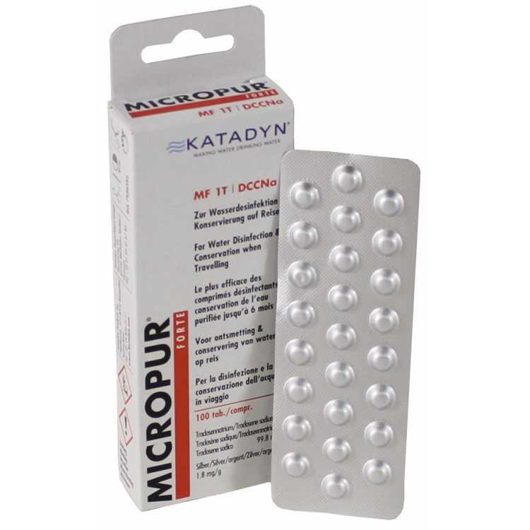 "Katadyn, ""Micropur Forte MF 1T"", 100 tablets"