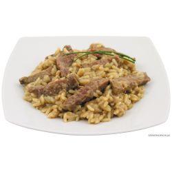 Rindergeschnetzeltes mit Reis, Vollkonserve, 400 g