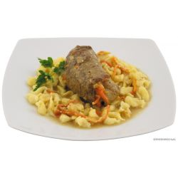 Beef roulade with spaetzle, fully canned, 400 g