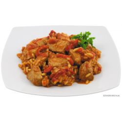 Serb. Fire meat with rice, fully canned, 400 g