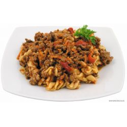 Pasta with Bolognese sauce, fully preserved, 400 g,