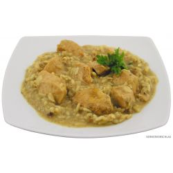 Chicken curry with rice, canned, 400 g