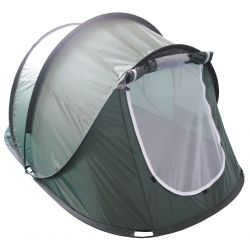 "Throwing tent, ""Rachel"", olive, size: 220 x 145 x 110 cm"