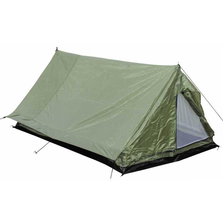 """Tent, """"Minipack"""", 2 people, olive, 213x137x97cm"""