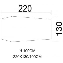 """Tunnelzelt, """"Hochstein"""", oliv, Größe: 220 x 130 x 100 cm"""