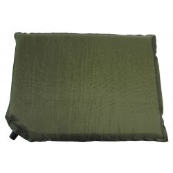 Thermo pillow, self-inflating, olive, size 42 x 31 x 3 cm