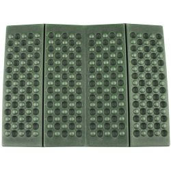 Thermal cushion, foldable, olive, size 39 x 30 x 1 cm
