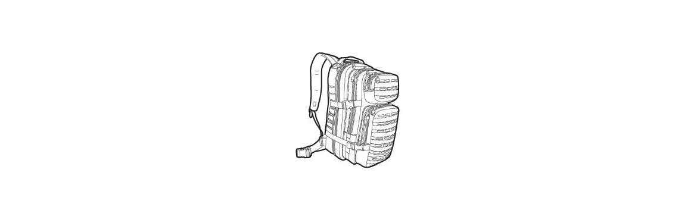 Rucksäcke und Taschen für Fluchtrucksäcke