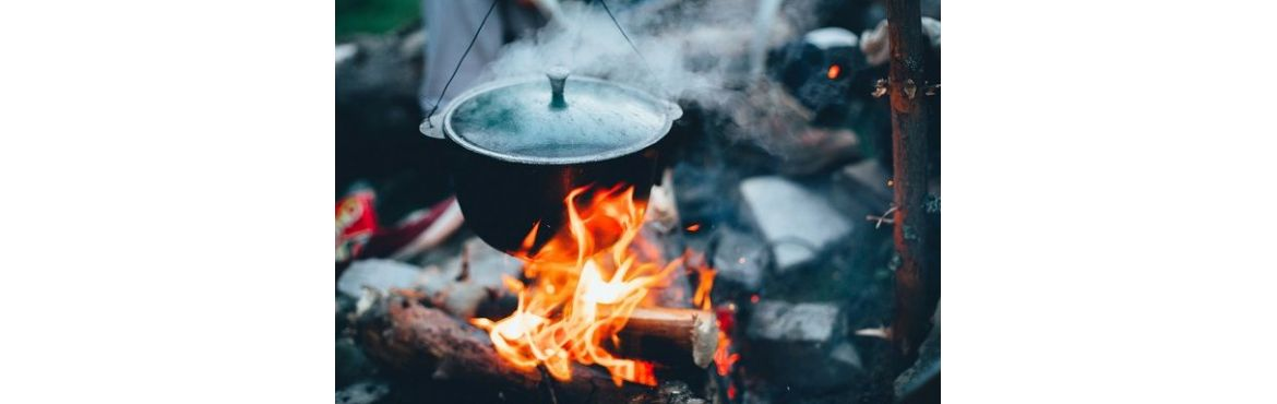 Food Drink Cooking e Food for Outdoor, Survival and Bushcraft