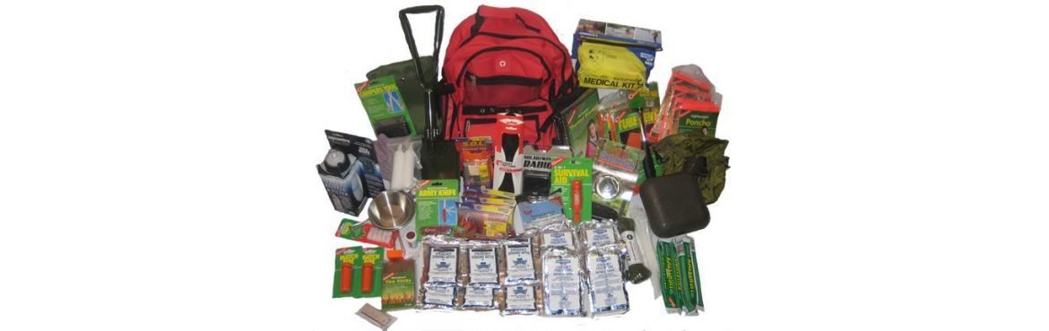 Bug Out Bags - backpack packages